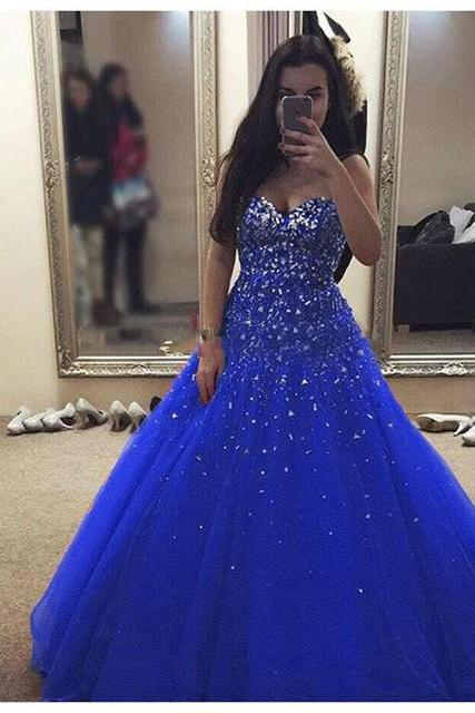 Prom Dress, New Arrival Ball Gown Evening Dress,Open Back Tulle Evening Dress,Sexy Prom Dresses,Formal Gowns,Floor-length Prom Dresses,Wedding Guest Prom Gowns, Formal Occasion Dresses,Formal Dress