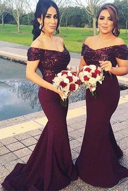 Charming Prom Dress,Mermaid Prom Dress,Long Prom Dress,Formal Evening Dress,Evening Gown