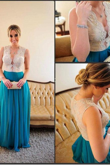 blue prom dress, long prom dress, sexy prom dress, 2017 prom dress, special occasion dress, cheap prom dress